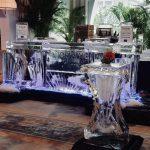 Mobile Ice bar setup for Norwegian Embassy Night