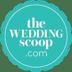 The wedding scoop logo