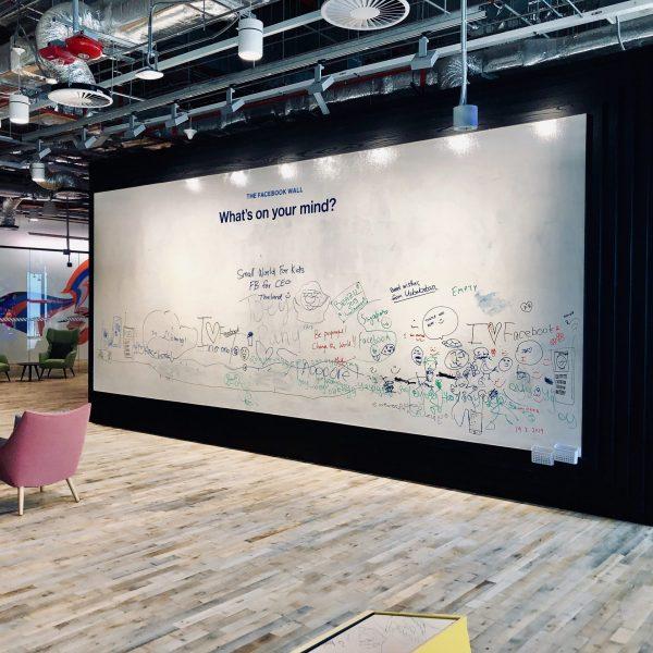 facebook office idea wall